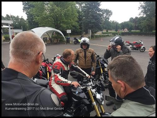 Motorrad Briel Kurventraining 2018