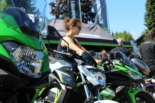 23.6.18 Kawasaki Testride-Event auf der Schwarzwaldhochstraße