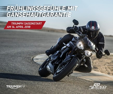 TRIUMPH Saisonstart / Speed Triple Launch Event