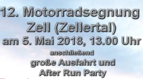 Motorrad Termin Motorradsegnung in Zell (Zellertal)