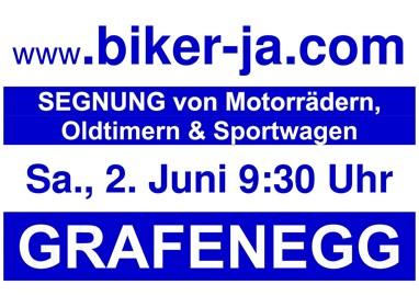Motorrad Termin Motorrad-, Oldtimer- & Sportwagensegnung