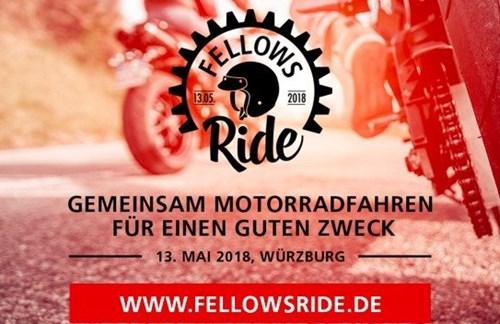 Fellows Ride - Gemeinsam Motorradfahren für einen guten Zweck.