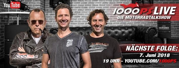 Motorrad Termin 1000ps Live - die Motorradtalkshow