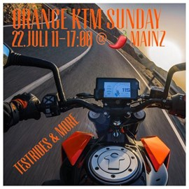 Motorrad Termin KTM Orange Sun-Day im Chilli Pepper Mainz