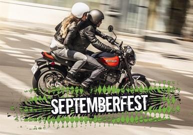 Motorrad Termin Kawasaki - September Fest 2018