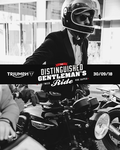 The Distinguished Gentleman's Ride 2018