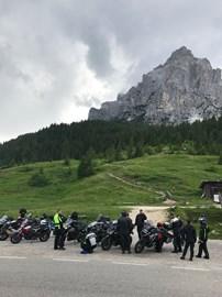 Motorrad Termin Reisevortrag von Kärnten in die Schweiz