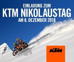 Motorrad Termin KTM Nikolaustag 2018