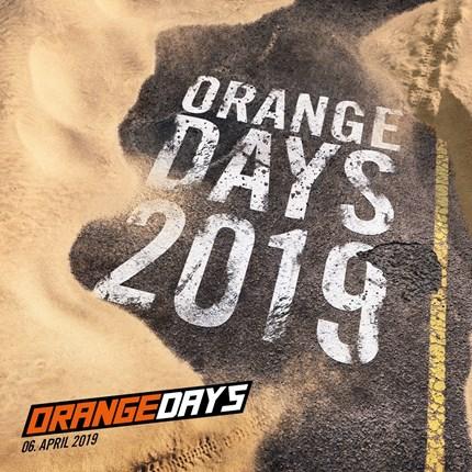 KTM ORANGE DAYS 2019 KTM ORANGE DAYS 2019 - 06. April 2019Egal ob im Gelände oder auf Asphalt - mit den neuesten KTM-Modellen beherrschst du jeden Untergrund. Die KTM O...