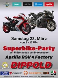 Motorrad Termin Superbike Party  am 23. März 2019