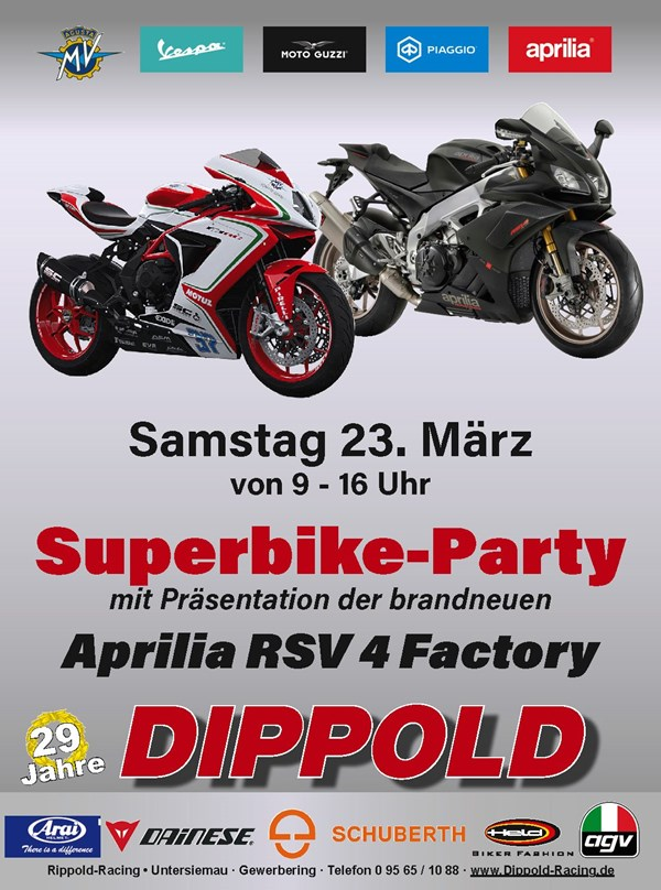 Superbike Party  am 23. März 2019