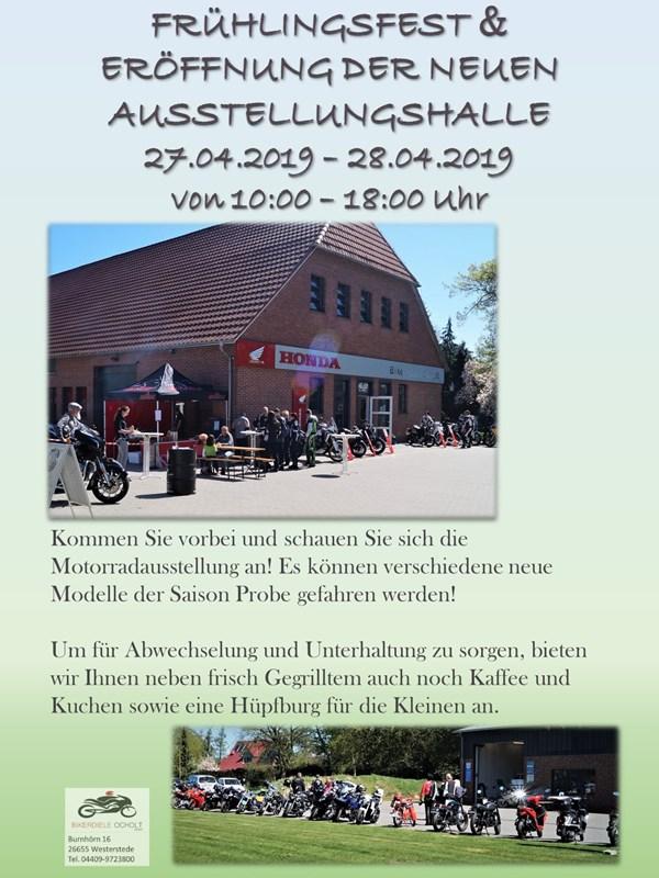 Frühlingsfest & Eröffnung der neuen Ausstellungshalle