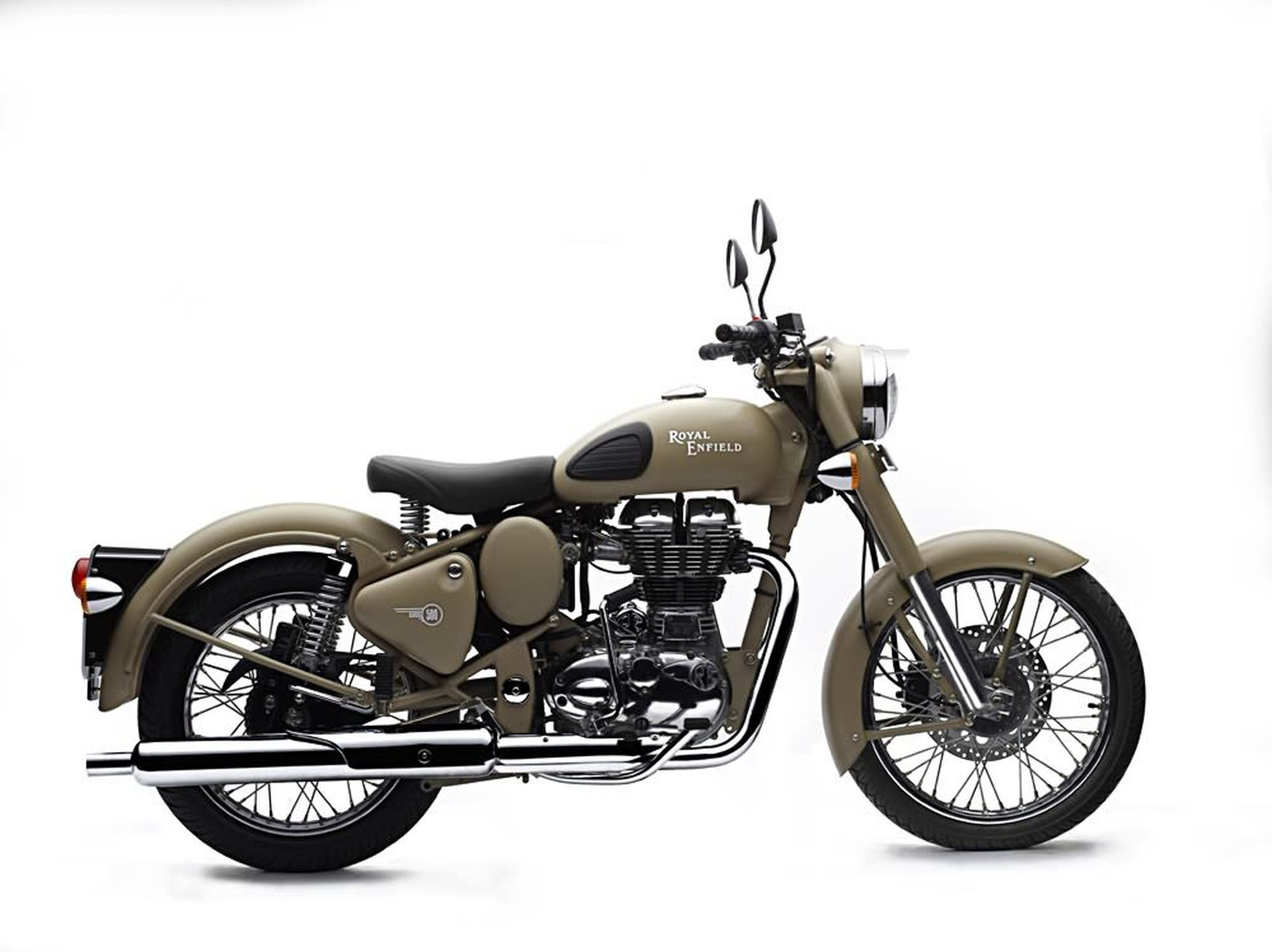 motorrad occasion royal enfield bullet 500 classic efi military kaufen. Black Bedroom Furniture Sets. Home Design Ideas