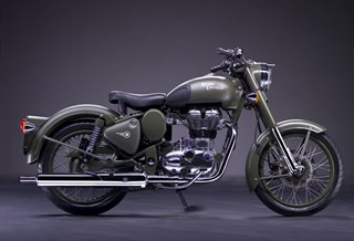 Royal Enfield Bullet 500 Classic EFI Military 2014