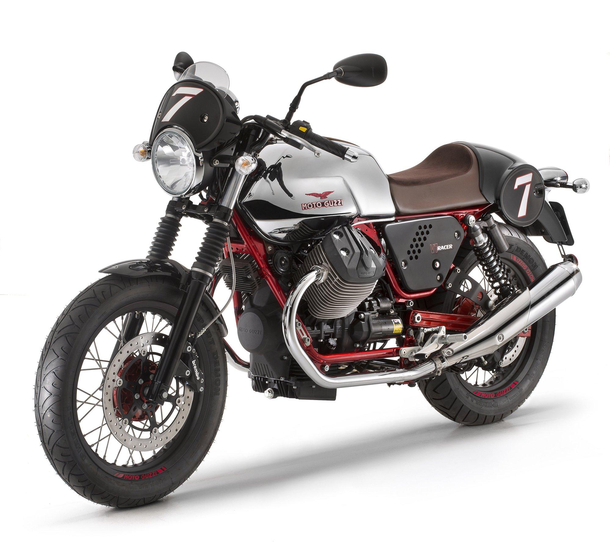 gebrauchte moto guzzi v7 racer motorr der kaufen. Black Bedroom Furniture Sets. Home Design Ideas