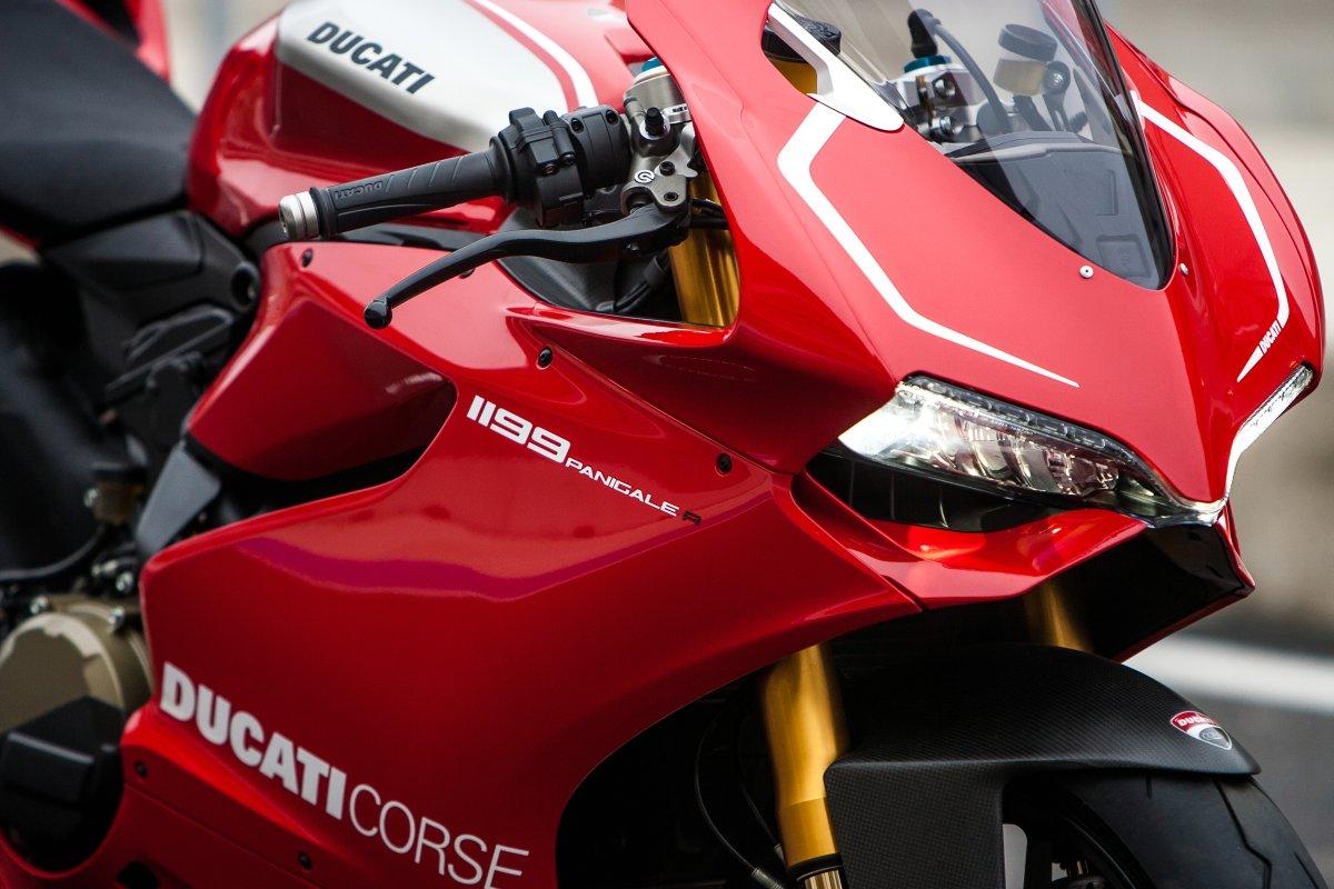 Ducati Monster  Dark Headlight