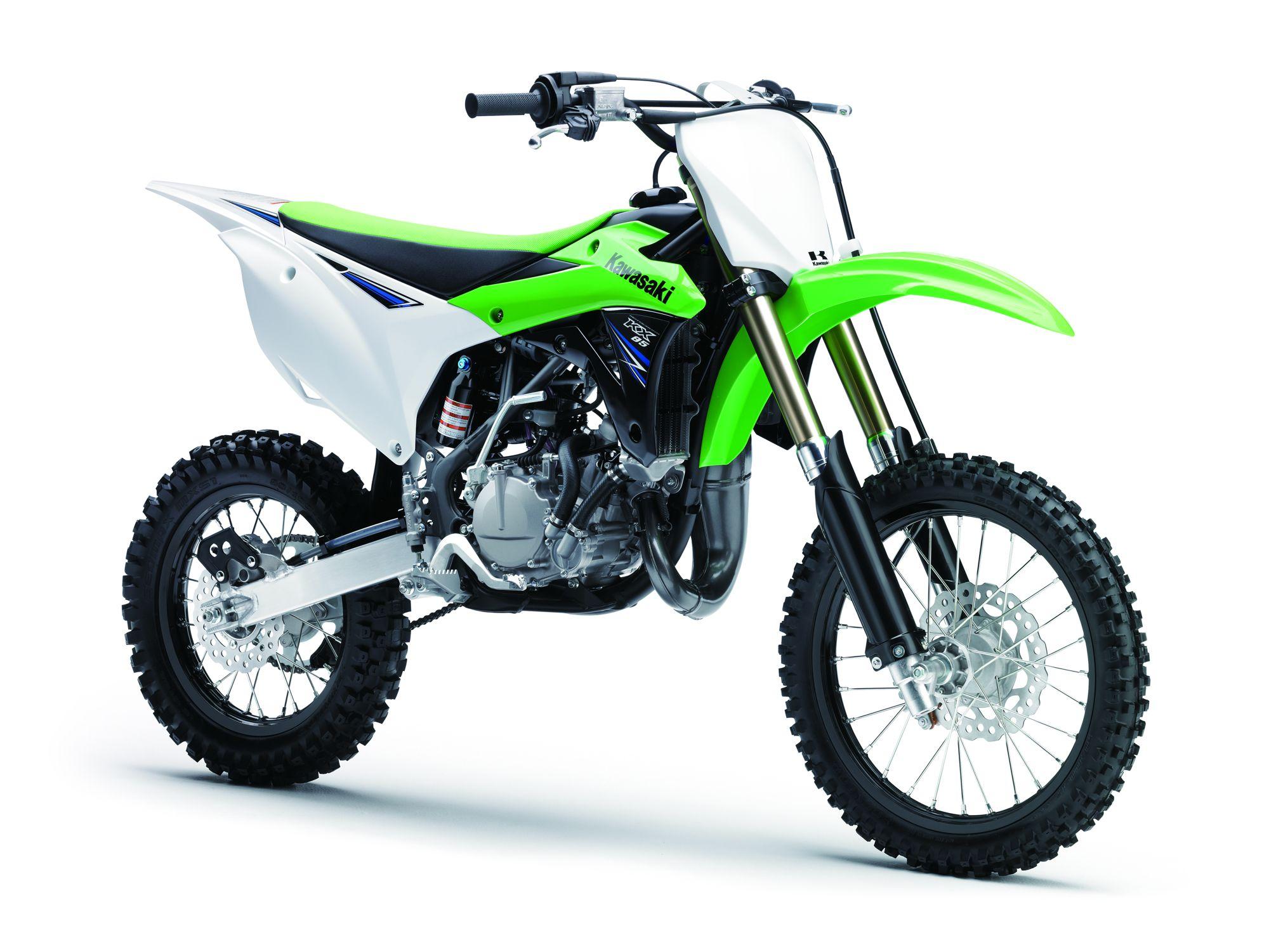 Kawasaki KX85   Motocross Motorcycle   Confidence
