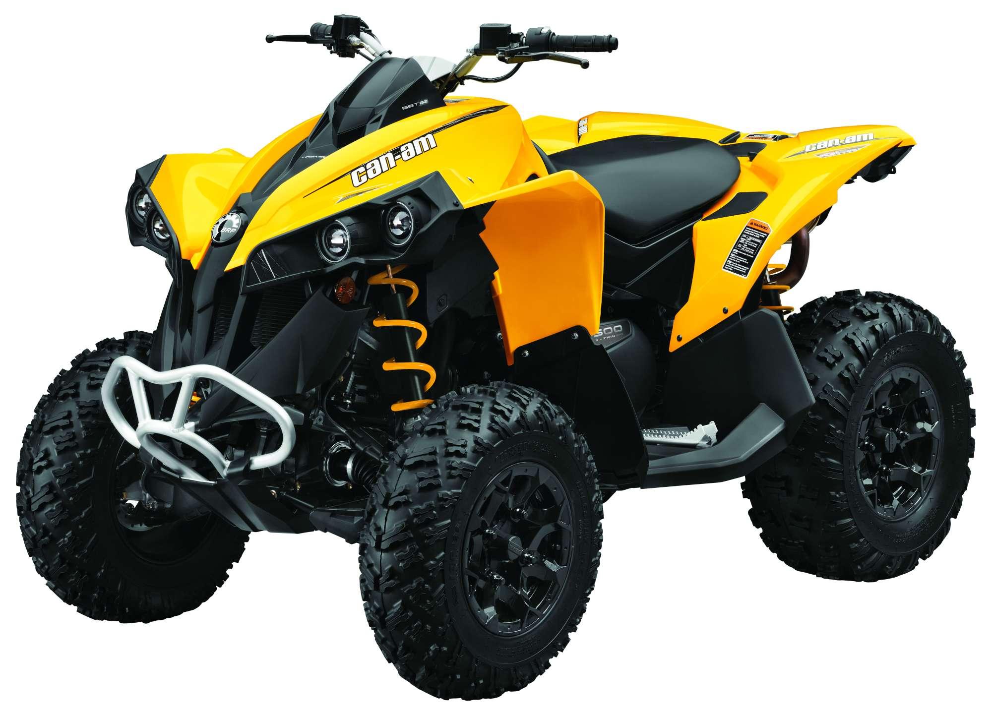 Can Am Renegade Vs Yamaha Wolverine