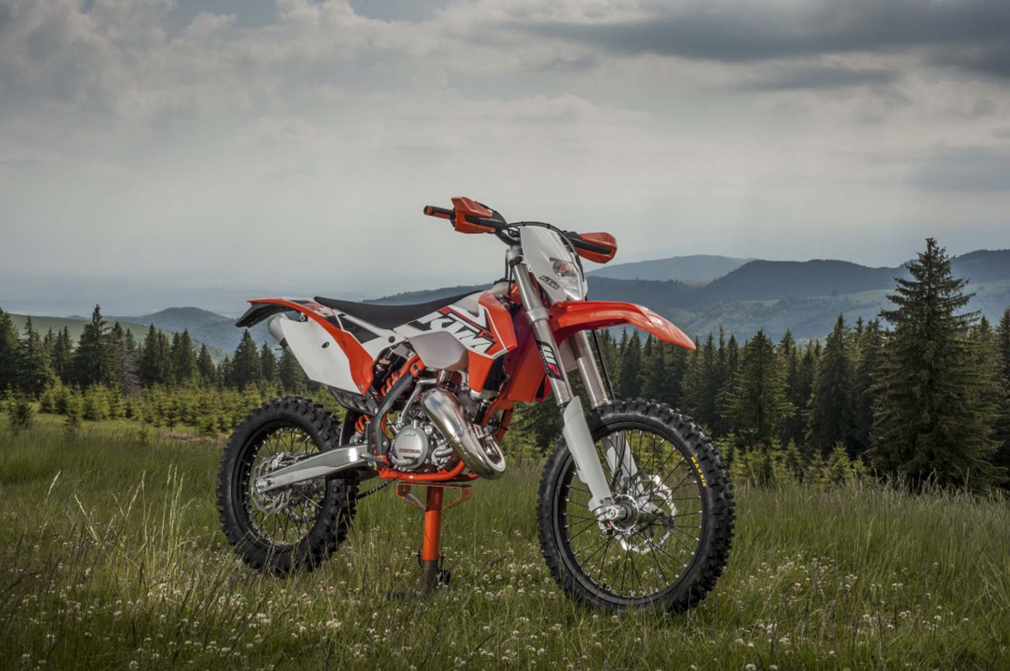 Snap Ktm 200 Exc V 250 300 Test Two Stroke Review Wiring Diagram 125 Six Days Opinie Forum