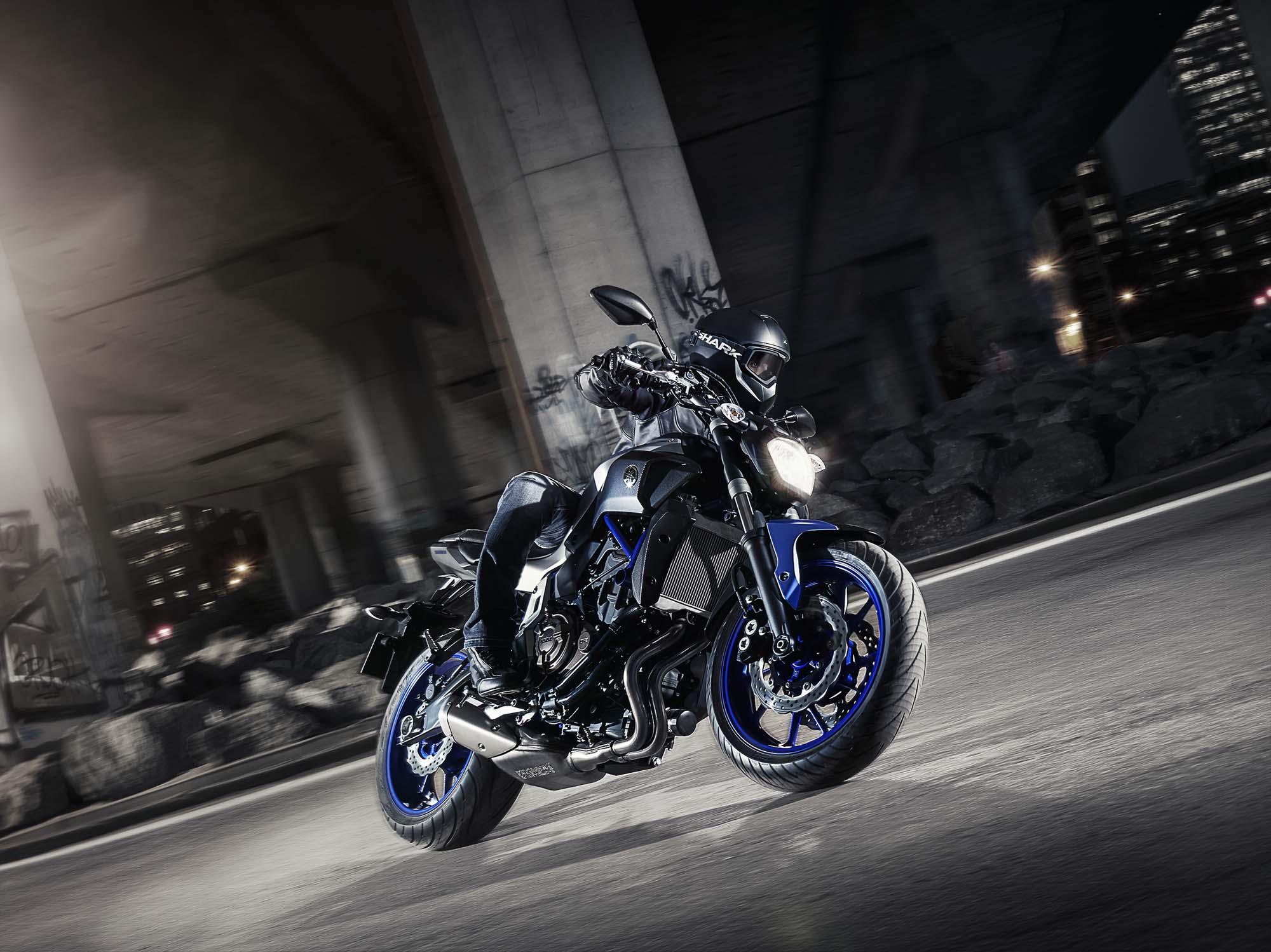 Yamaha MT-07 Bilder und technische Daten