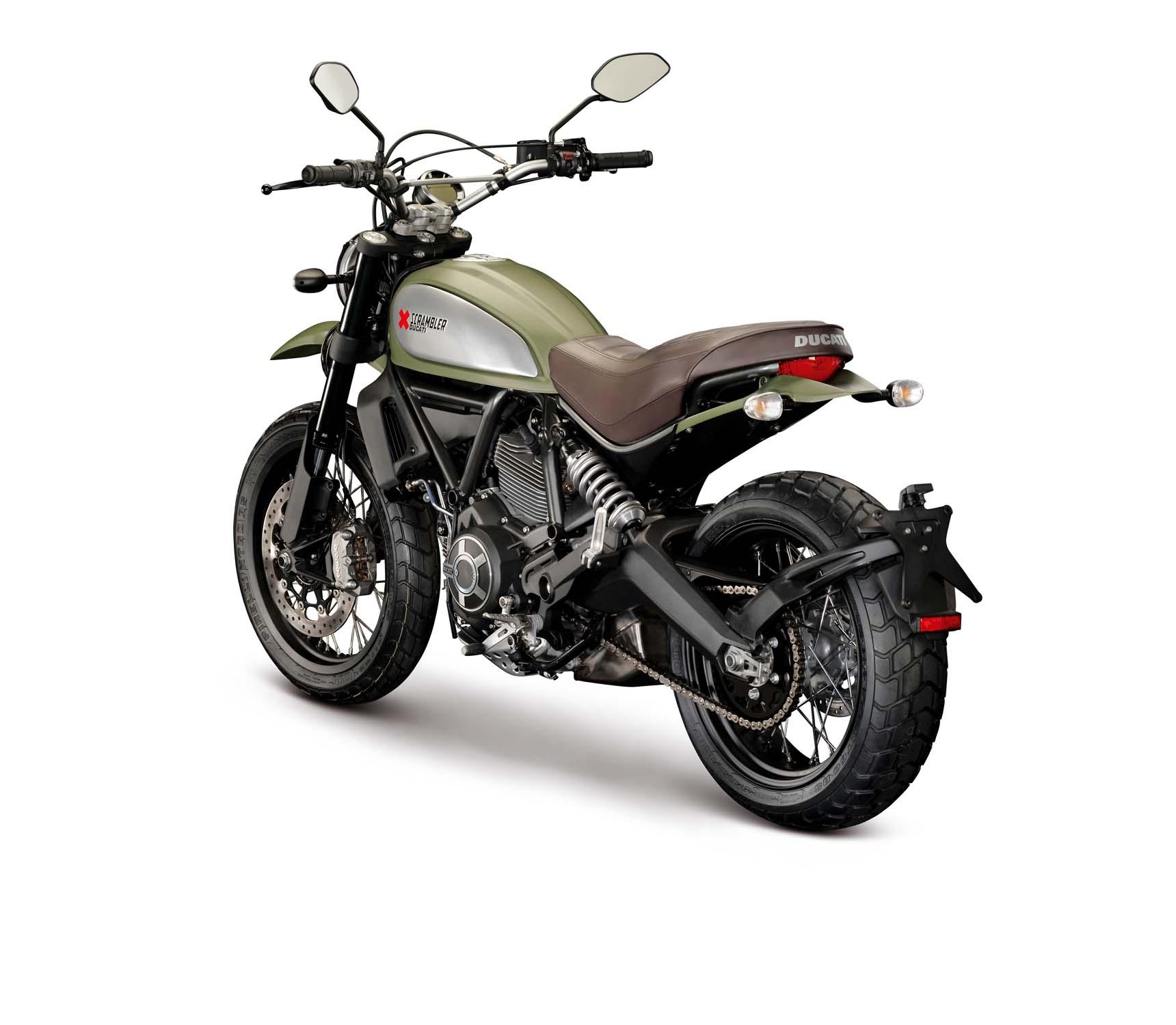 Ducati Scrambler Starter Bike