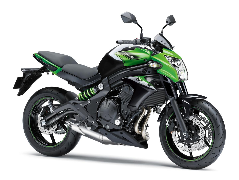 Kawasaki Er 6n Test Bilder Technische Daten