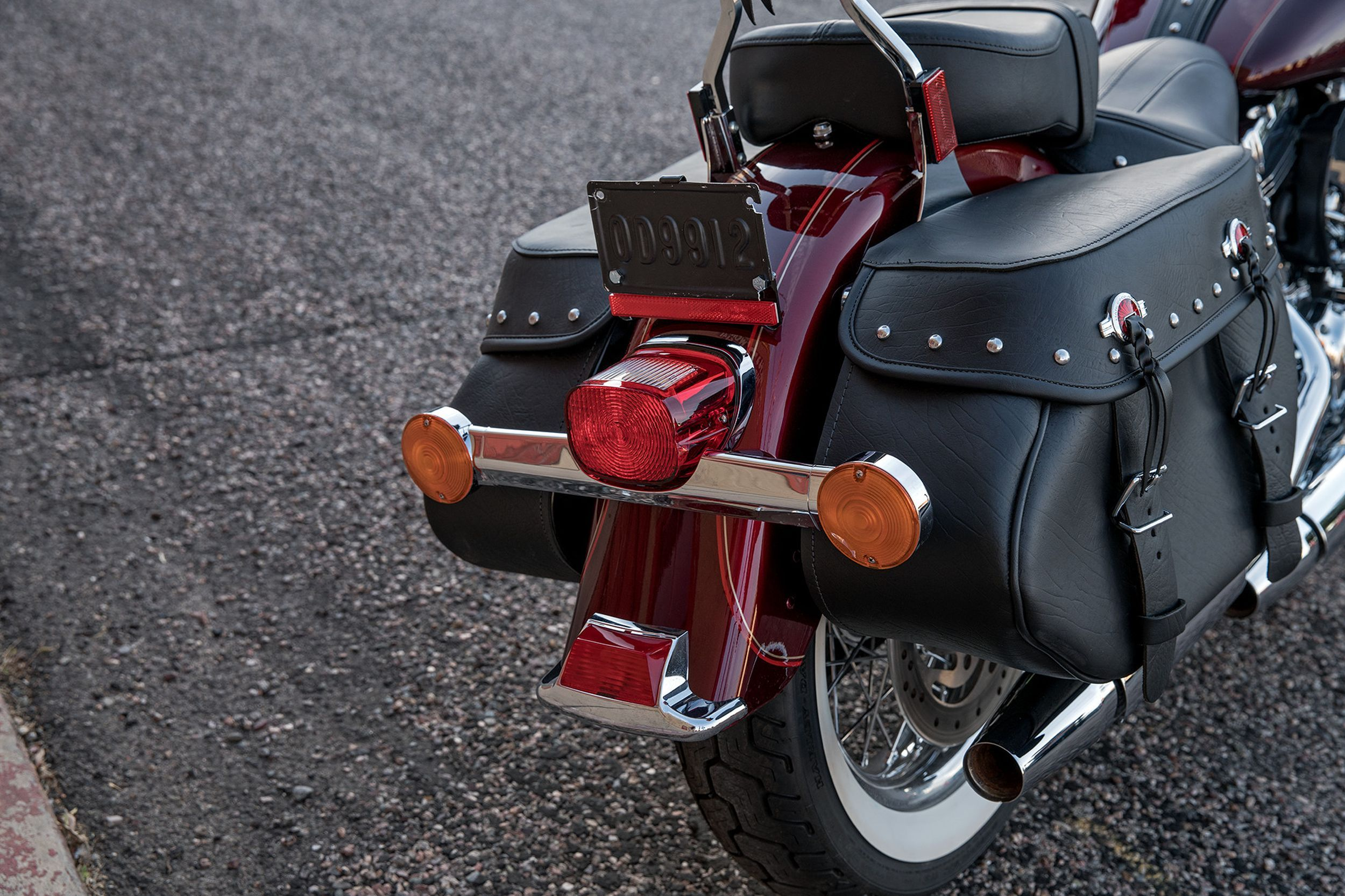 Harley-Davidson Softail Heritage Classic FLSTC, Test