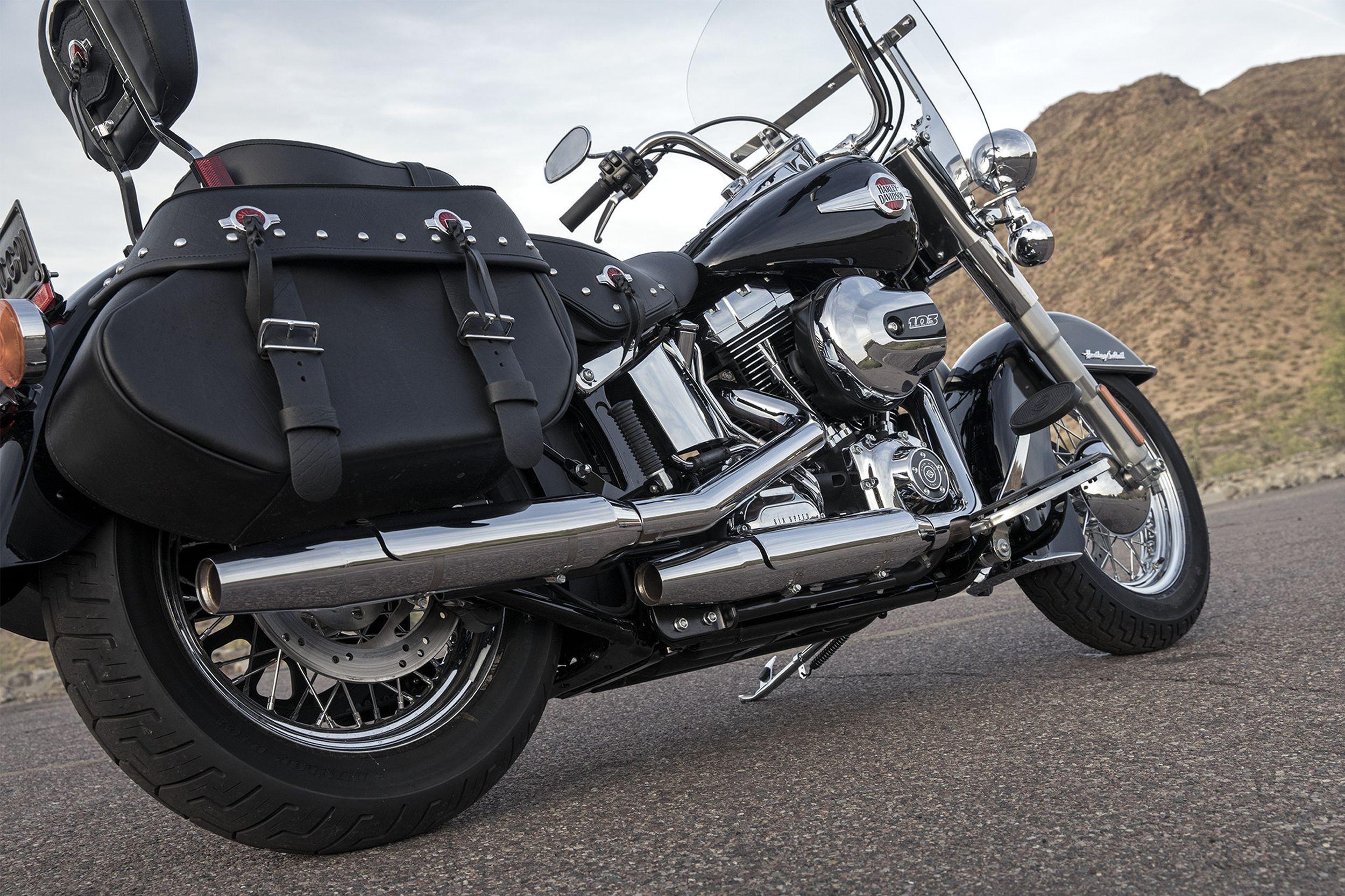Harley Davidson Softail Heritage Classic Flstc Test Baujahre Bilder 2017