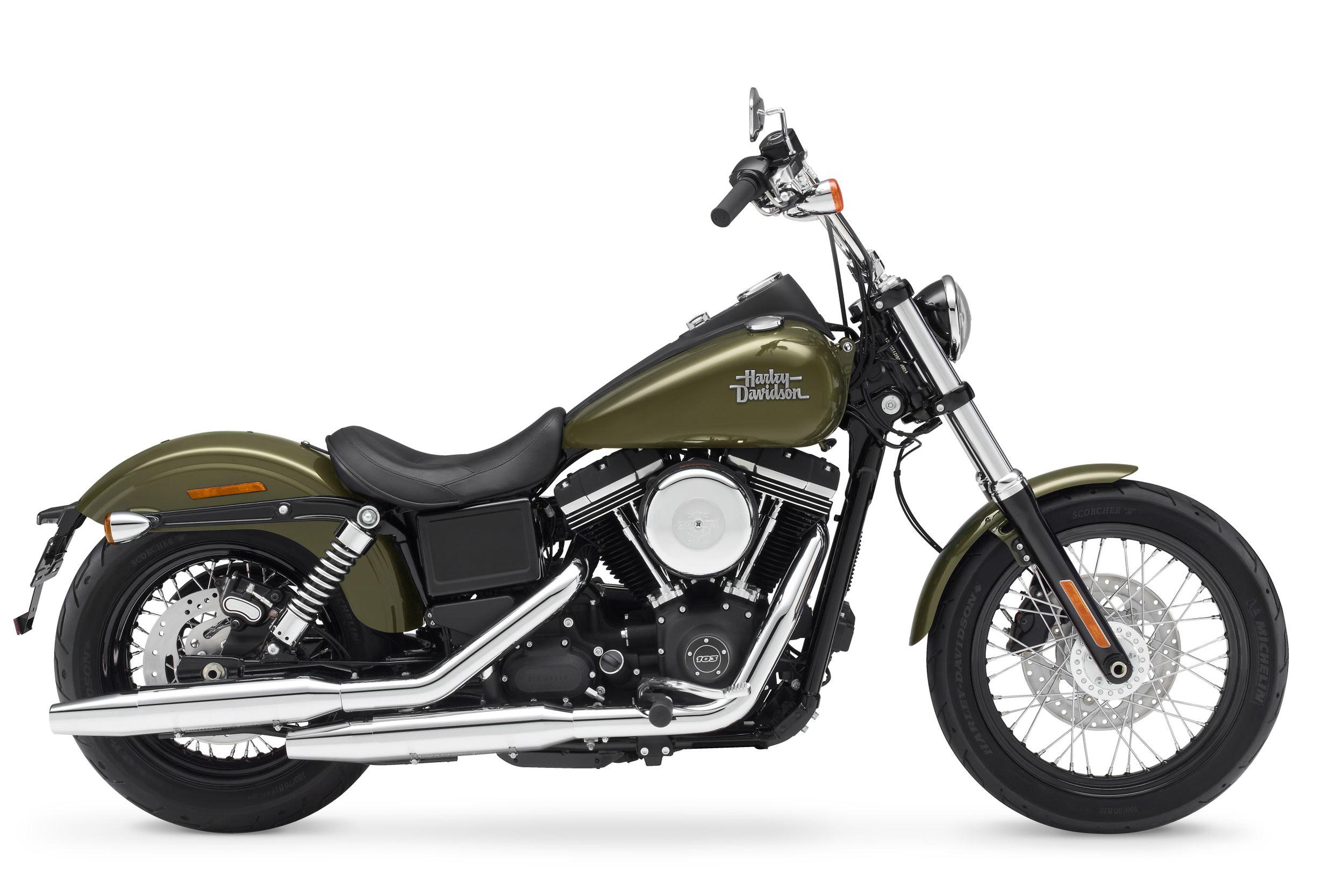 Gebrauchte und neue Harley-Davidson Dyna Street Bob FXDB Motorräder ...