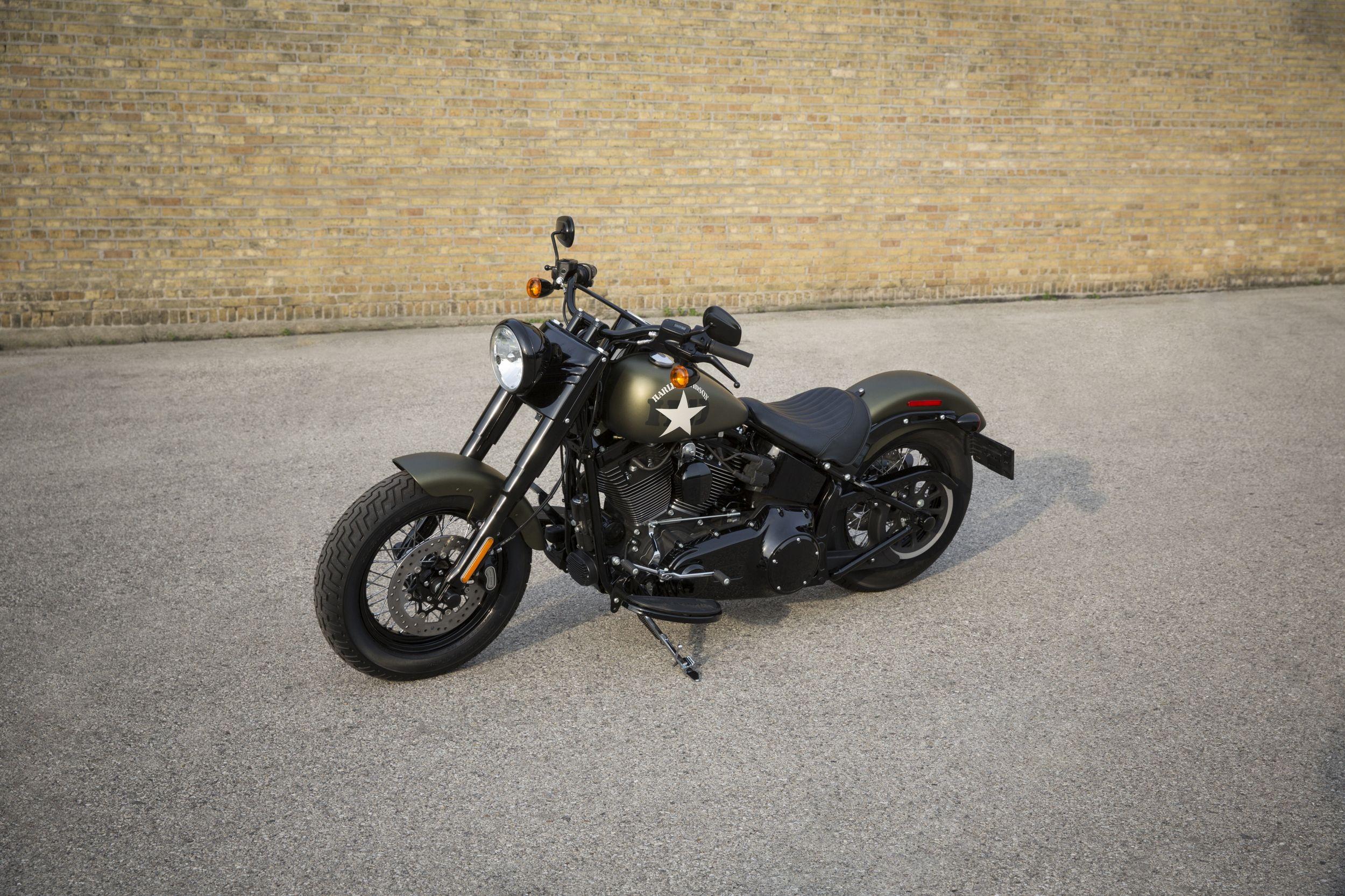 Sacoche Harley Davidson Street Bob Occasion