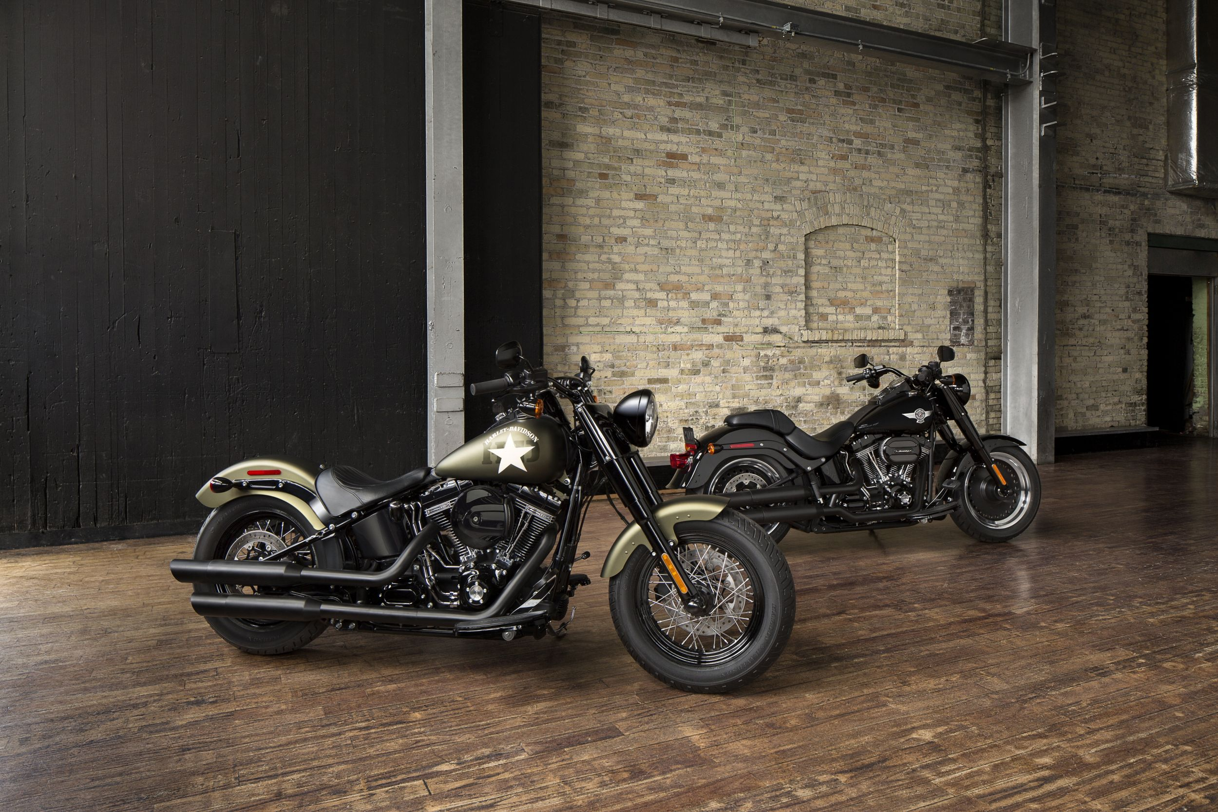gebrauchte harley davidson softail slim s motorr der kaufen. Black Bedroom Furniture Sets. Home Design Ideas