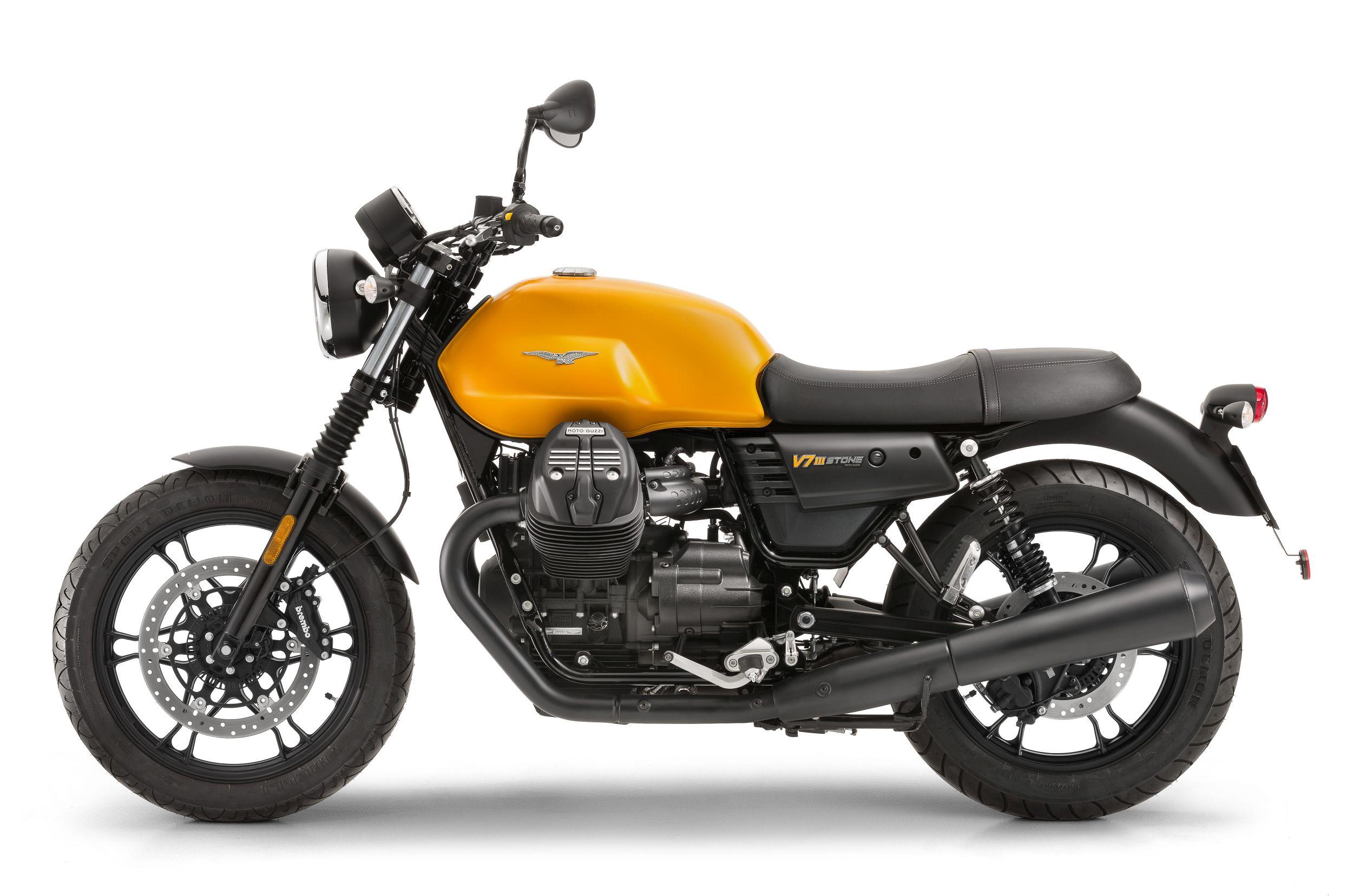 gebrauchte moto guzzi v7 iii stone motorr der kaufen. Black Bedroom Furniture Sets. Home Design Ideas