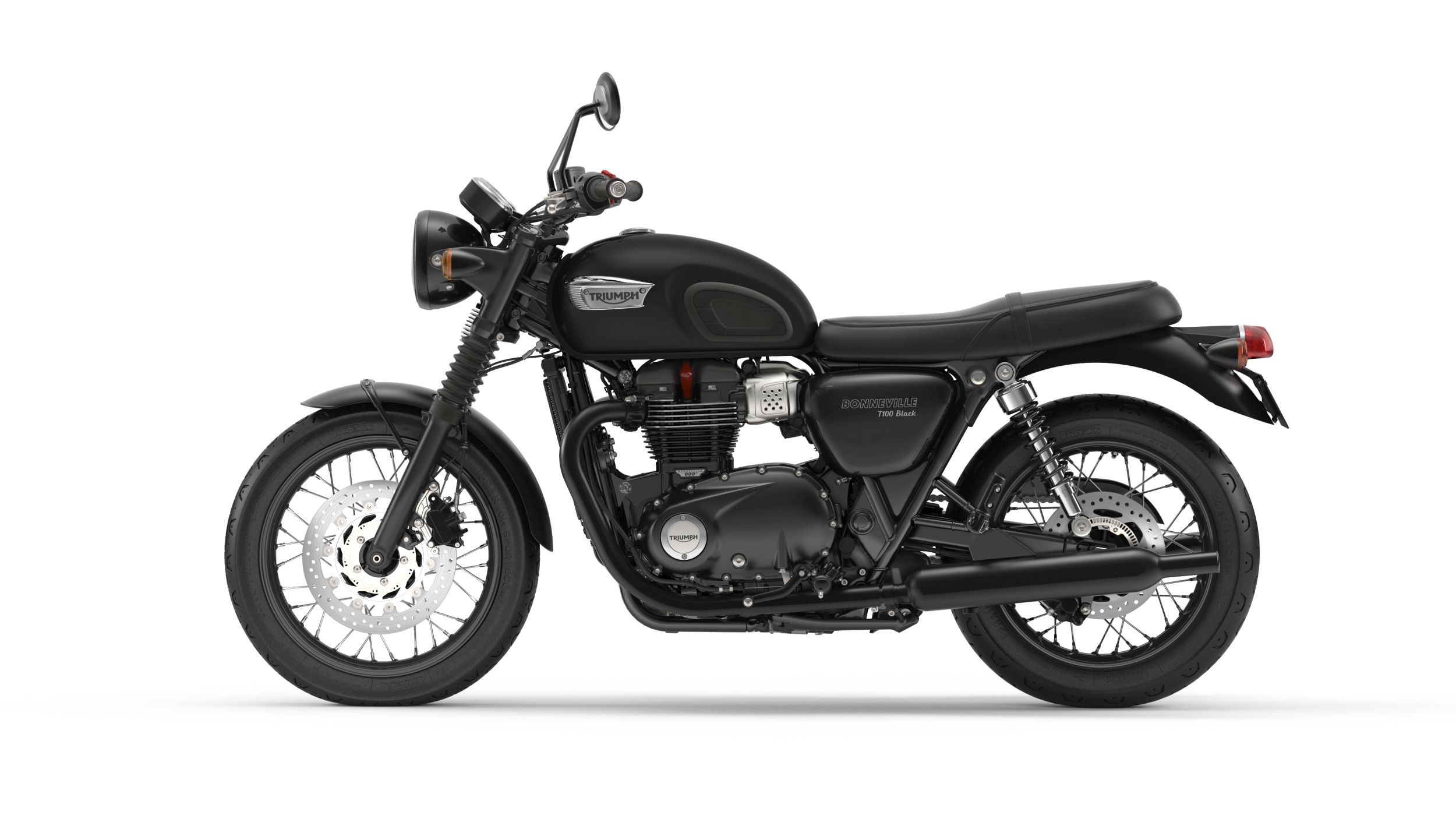 gebrauchte triumph bonneville t100 black motorr der kaufen. Black Bedroom Furniture Sets. Home Design Ideas