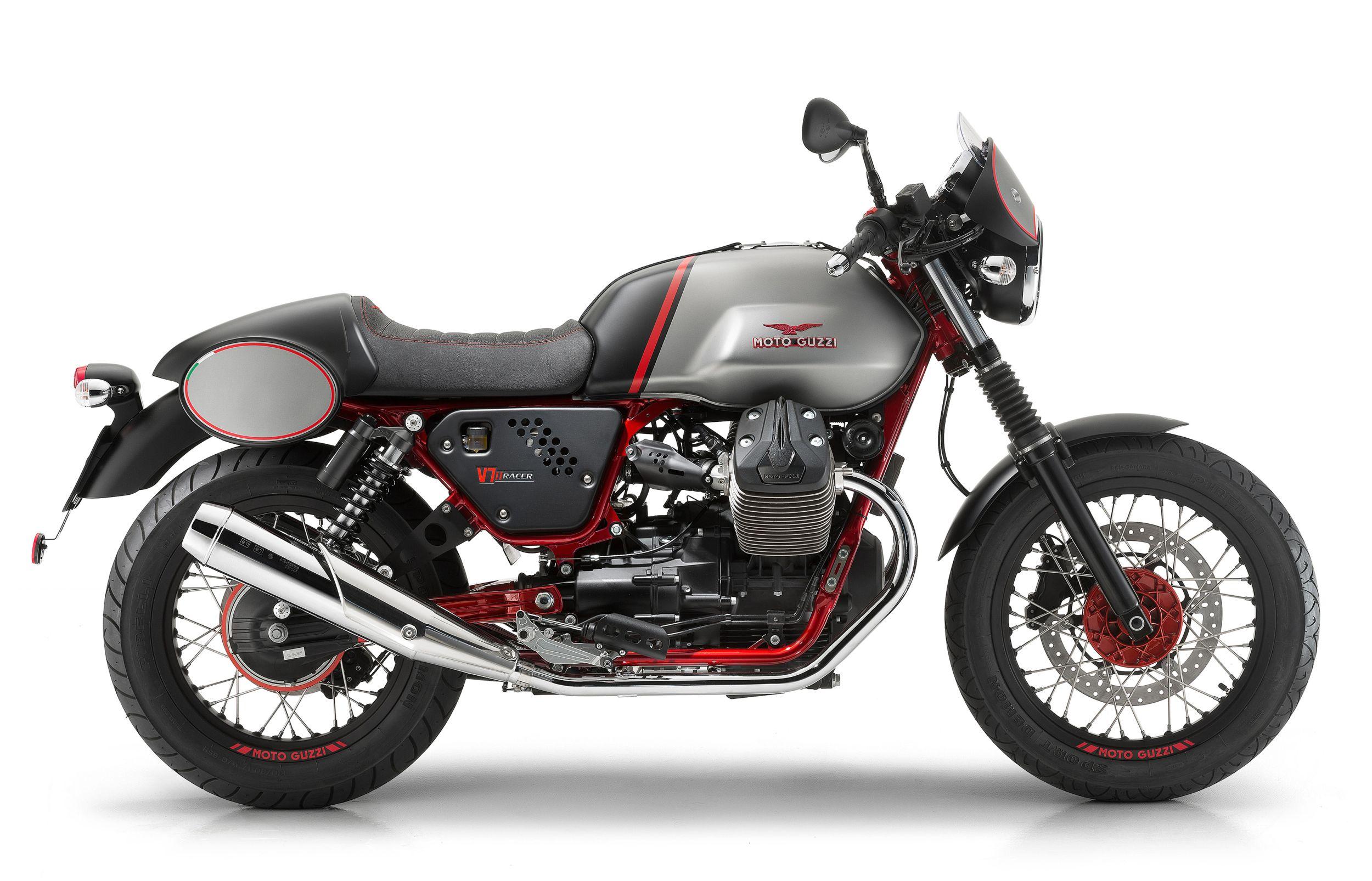 gebrauchte und neue moto guzzi v7 ii racer motorr der kaufen. Black Bedroom Furniture Sets. Home Design Ideas