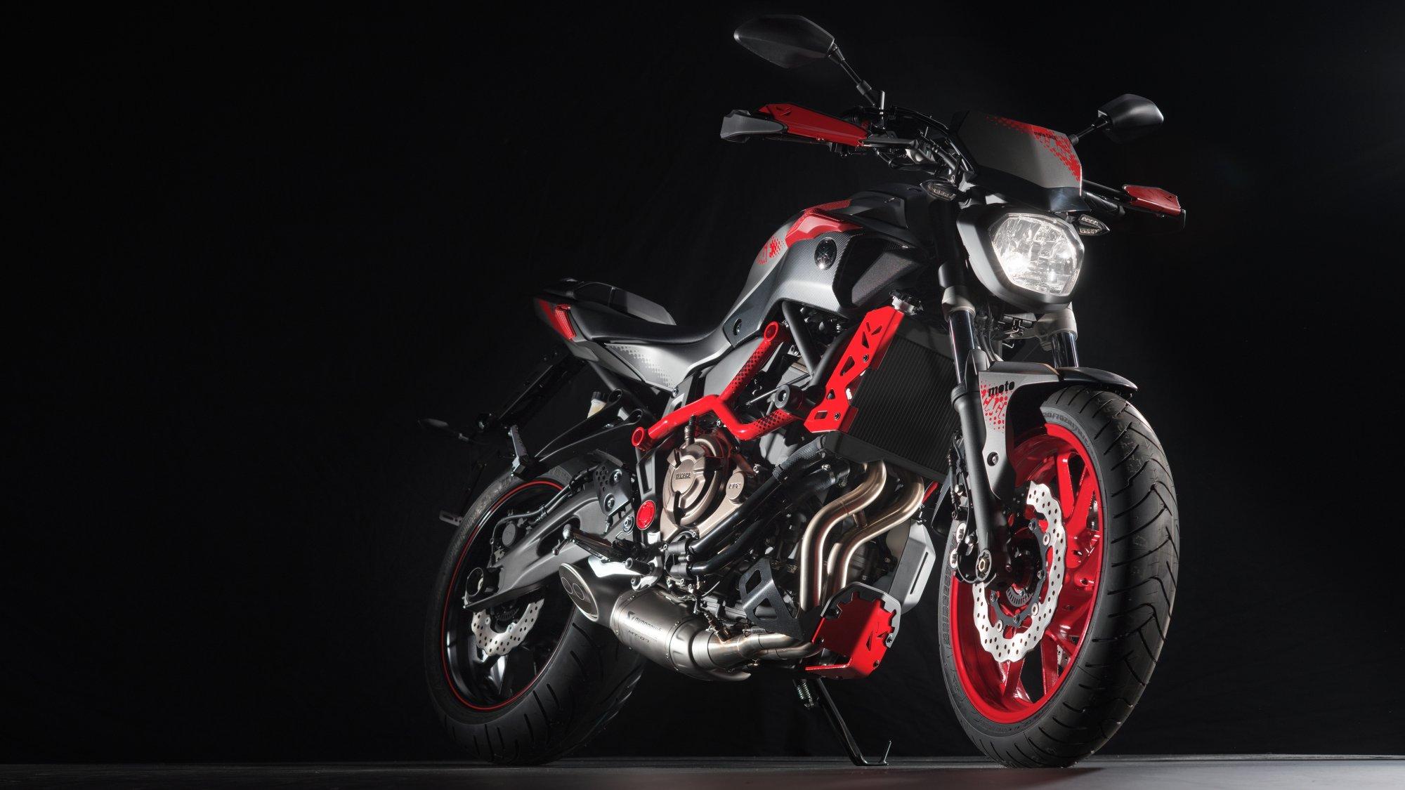 gebrauchte und neue yamaha mt 07 moto cage motorr der kaufen. Black Bedroom Furniture Sets. Home Design Ideas