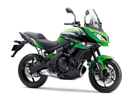 Versys 650 Lime Green