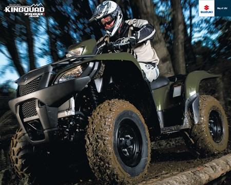 KingQuad 750AXi 4x4