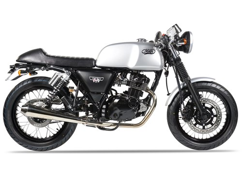 Mash Cafe Racer 125 Silver Edition