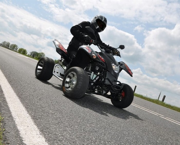 Adly Hurricane 320 Supermoto
