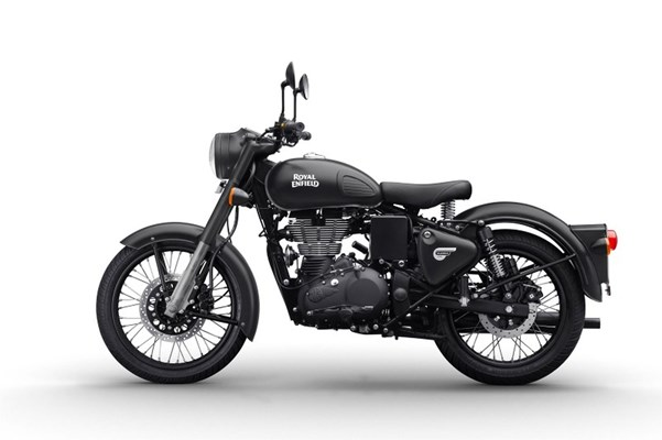 Royal Enfield Classic 500 EFI Stealth Black