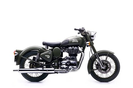Classic 500 EFI Battle Green