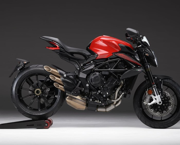 MV Agusta Dragster 800 Rosso