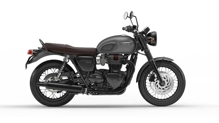 Triumph Bonneville T120 Black
