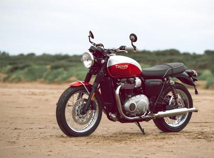 Triumph Bonneville T100 Bud Ekins Special Edition