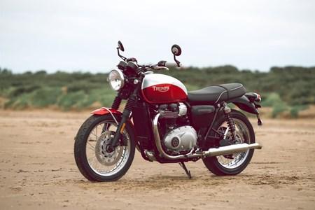 Bonneville T100 Bud Ekins Special Edition