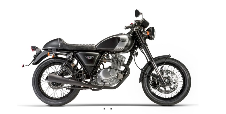 Mash Cafe Racer 125 Black Edition