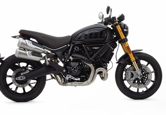 Ducati Scrambler 1100 Sport PRO - Matt Black Sonderangebot