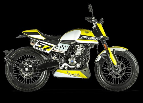 FB Mondial Flat Track 125i ABS
