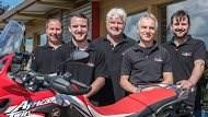 Unsere Mannschaft Motorradhaus Krapp