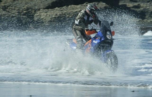 Martin Wabnegger auf KTM Adventure